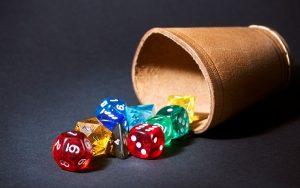 dice shaker