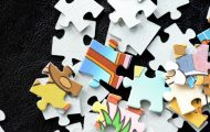 children's jigsaw puzzle pieces