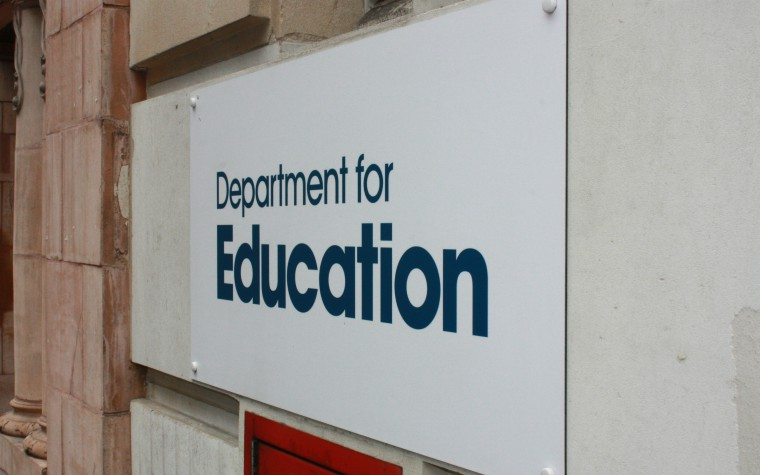 Description of image used in Working Together changes from 2015 to 2018 Department for Education DfE logo