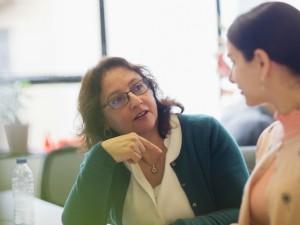 women having a work meeting