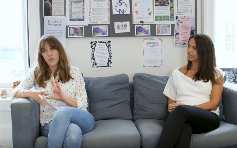 video still - professionals talking