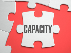 capacity jigsaw piece