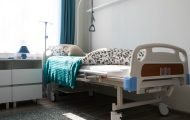Interior room nursing home, furniture for people with disabilities