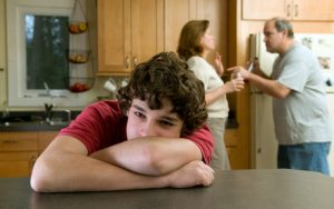 Domestic abuse - sad teenager - angry adults - Pic credit Three Rocksimages (Fotolia) 760