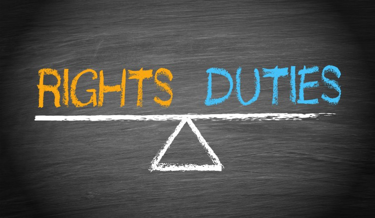 Rights and Duties - Balance Concept