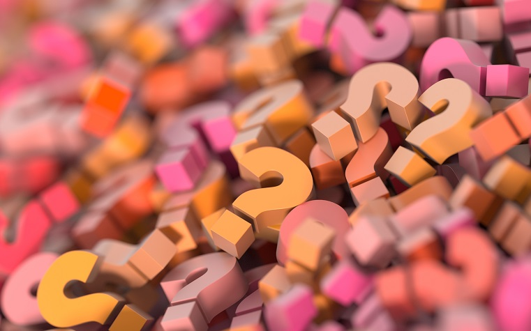 pile of question mark blocks, stretching to infinity