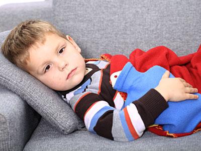 Fabricated illness - child