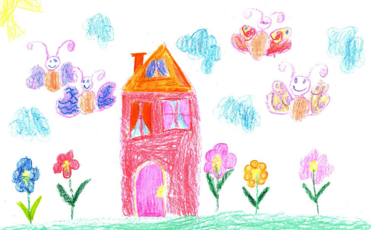 Description_of_image_used_in_confident_direct_work_with_children_child_drawing_family_house