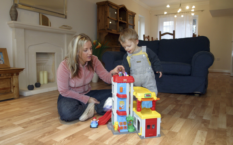 description_of_image_used_in_attachment_understanding_ther_theory_quick_guide_mother_and_toddler_playing_togther_in_living_room