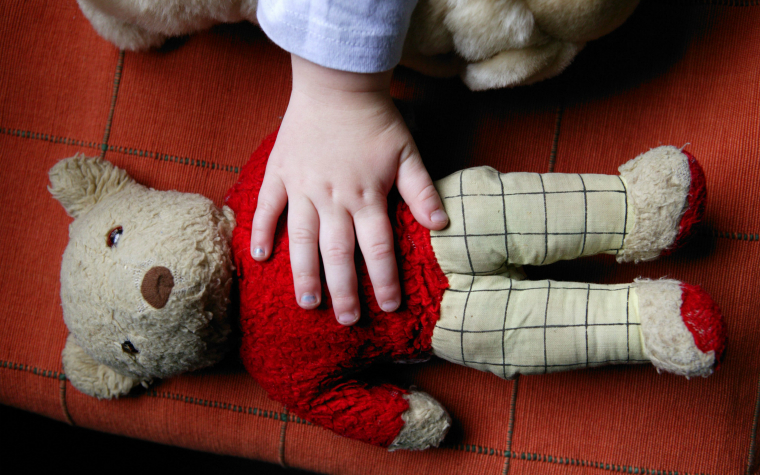 Descrption_of_image_used_in_neglect_research_review_battered_teddy_bear