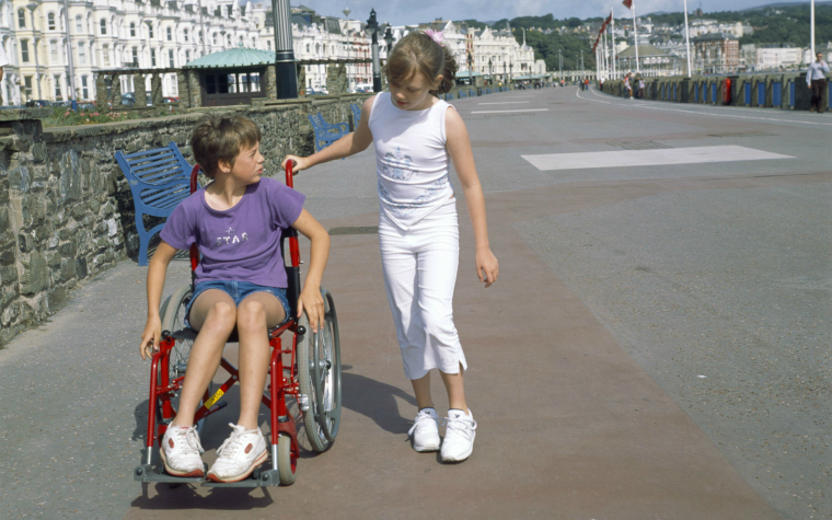Children with disabilities safe space learning