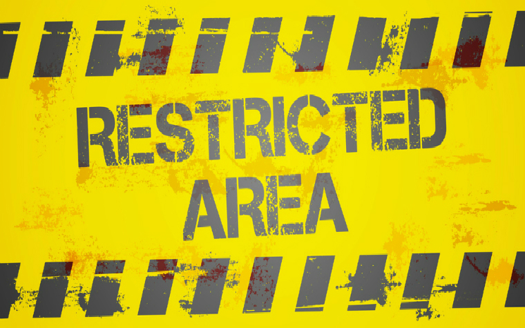 Description_of_image_used_in_when_a_restriction_becomes_a_deprivation_of_liberty_restricted_area_sign_Felix_Pergande_Fotolia