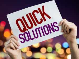 quick solutions Fotolia_112025485_S gustavofrazao 300x225