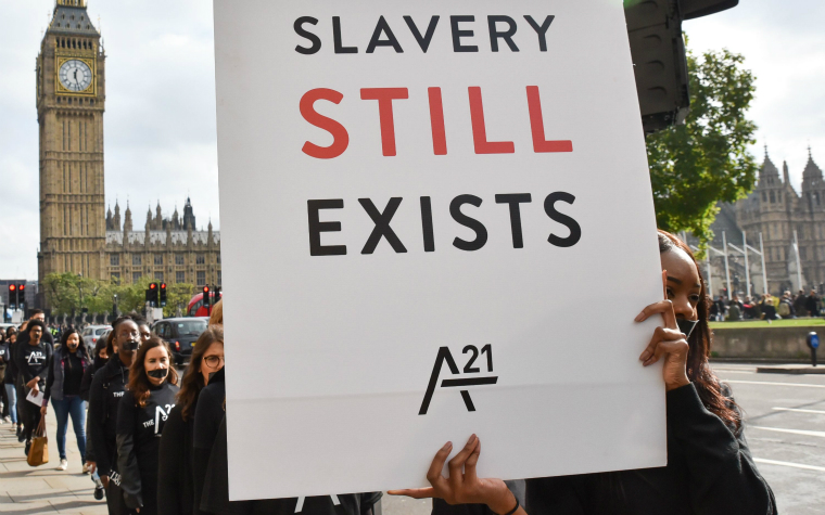Description_of_image_used_in_modern_slavery_slavery_still_exists_protest