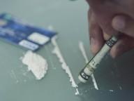 Man taking drugs