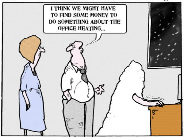 Social work cartoon