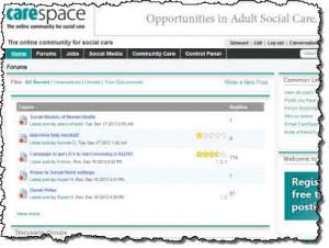 CareSpace screen grab