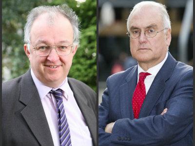 John Hemming and Michael Wilshaw