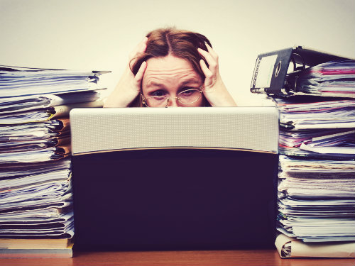 Pile Of Reports : Job prospects for newly qualified social workers