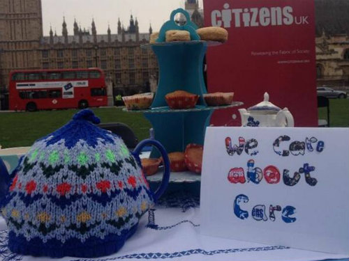 Citizens UK's tea party