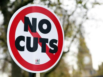 No cuts sign