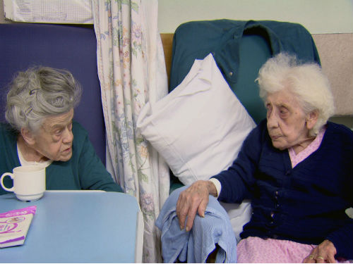 Betty William and Catherine O'Mahoney