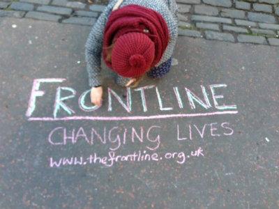 """Frontline: Changing lives"" (Credit: Ewan Shears)"