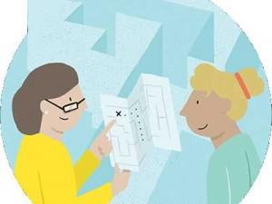 social work manager illustration