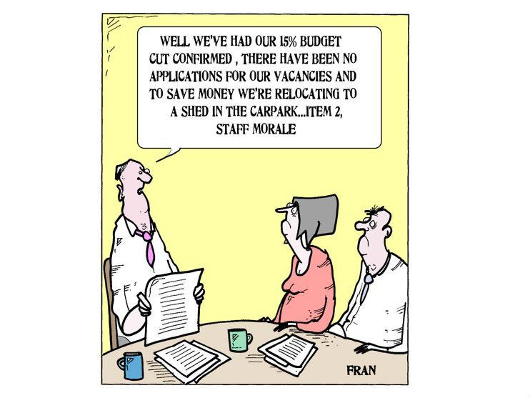 Social Work Cartoon The New Office Community Care