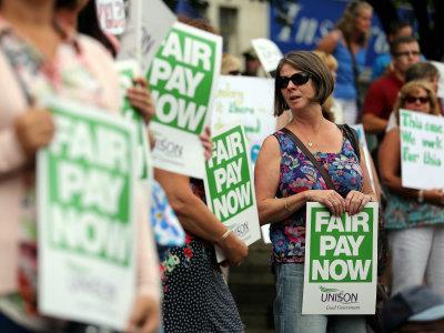 union strike