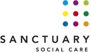 Sanctuary Social Care logo on cc live exhibitor page