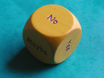 indecision dice