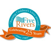 Five Rivers Child Care logo on cc live exhibitor page