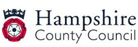 Hampshire council logo on cc live exhibitor page