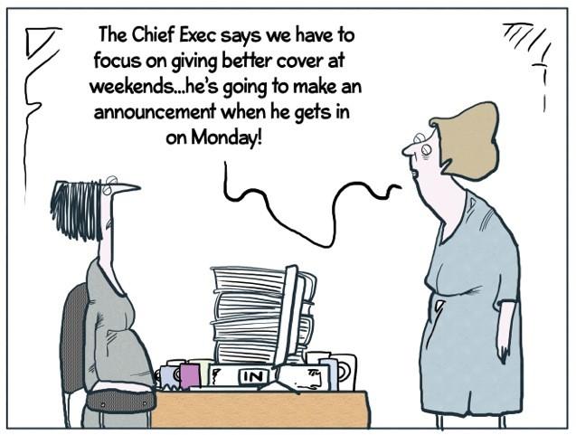 Social Work Cartoon Weekend Cover Community Care
