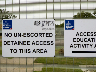 immigration removal centre