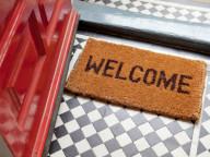 Welcome mat