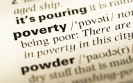 Dictionary definition of poverty