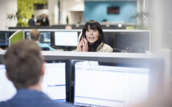 agency social worker, hot desking, office