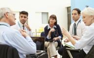 Hospital discharge meeting