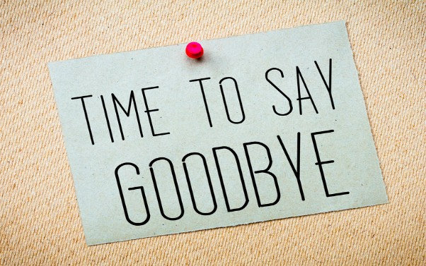 Goodbyes and endings need careful planning and time to ...