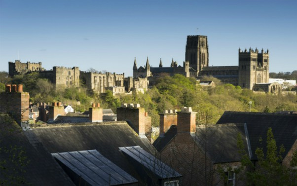 Durham town and cathedral