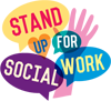 Stand Up for Social Work logo