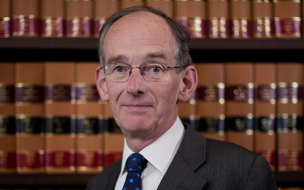 Image of Sir Andrew McFarlane, president of the family division of the High Court