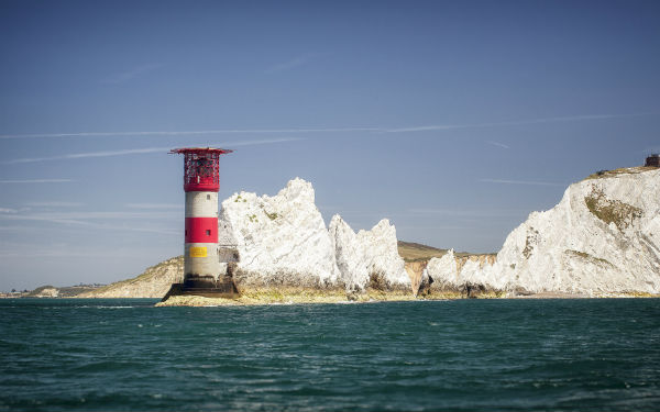 Image of the Isle of Wight's Needles lighthouse (credit: ©Visitisleofwight.co.uk)