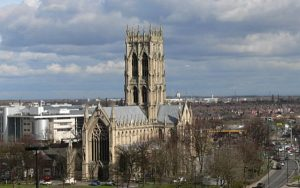 Image of Doncaster, home of England's first children's services trust (credit: Harleyamber / Wikimedia Commons)