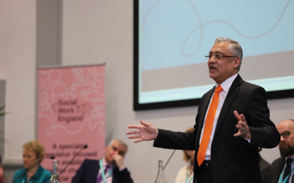 Image of Lord Patel of Bradford, the chair of Social Work England