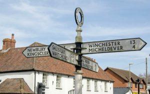 Hampshire signpost