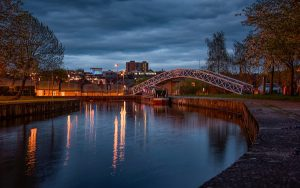 Night skyline image of Stoke-on-Trent (credit: alan1951 / Adobe Stock)