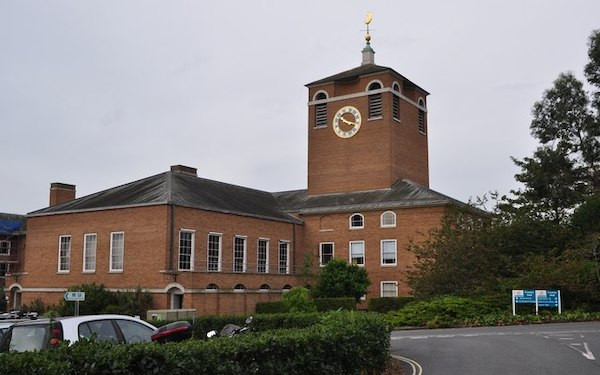 Image of County Hall, Exeter, seat of Devon council (credit: Lewis Clarke / geograph)